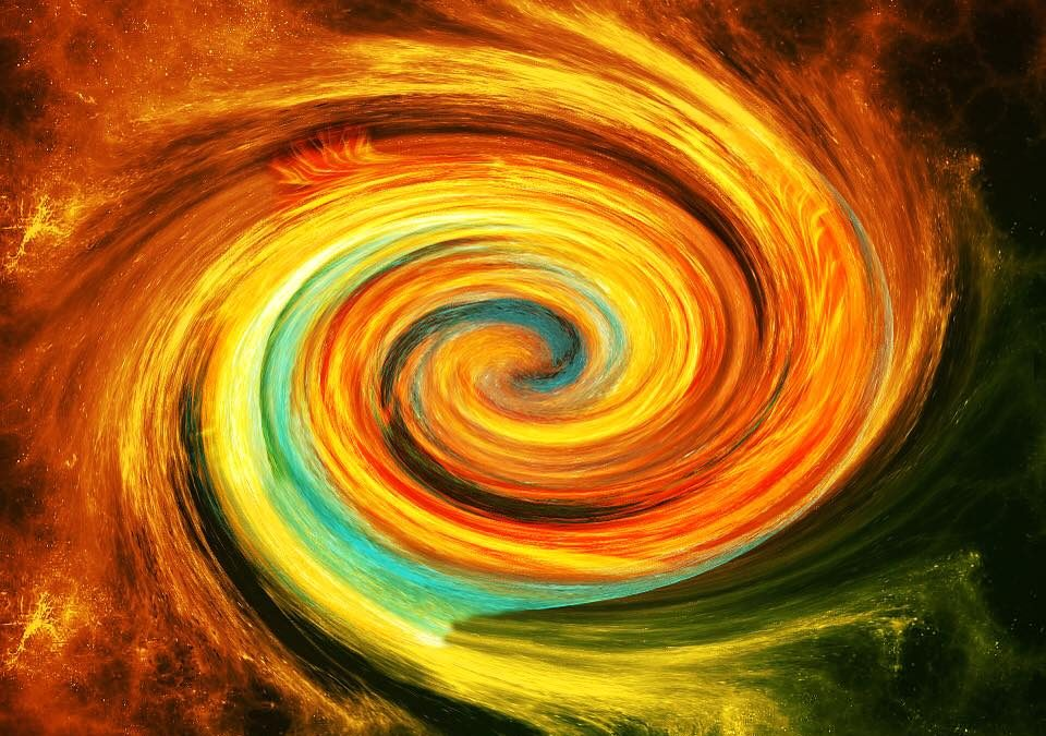 Spirale oder Kreis